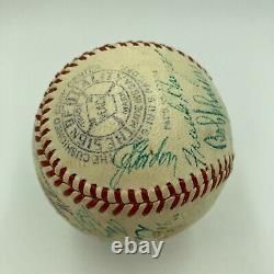1940 All Star Game Signed Baseball Jimmie Foxx Joe Dimaggio Ted Williams JSA COA