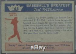 1959 Fleer 68 Signs for 59 Ted Williams PSA 8 (1317)