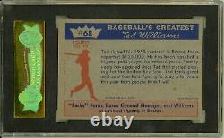 1959 Fleer TED WILLIAMS #68 Ted Signs for 59 Boston Red Sox HOF SGC 8 NM/MT