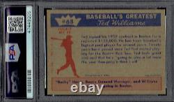 1959 Fleer Ted Williams 68 Ted Signs. PSA 5 EX & WELL centered. (TX205WXMD)