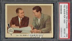 1959 Fleer Ted Williams 68 Ted Signs for 1959 HOF. PSA 8 NMMT. (TX7772RXMTTD)