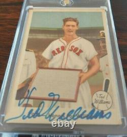 1959 Fleer Ted Williams Autograph #21 Of 80 2005 Insert 1/1 Red Sox Signed Coa