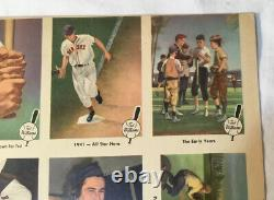 1959 Fleer Ted Williams Autographed Signed Uncut Sheet 15 #1 Early Years