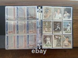 1959 Fleer Ted Williams Complete Set Ex+ #68 Ted Signs Psa 3