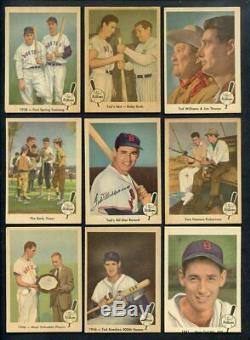 1959 Fleer Ted Williams Complete Set Ex+ W #68 Ted Signs 369549 (kycards)