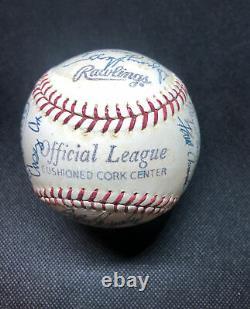 1969 Washington Senators Signed Baseball. Beckett