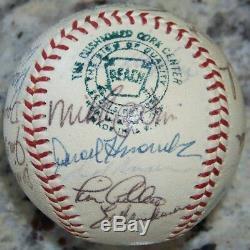 1969 Washington Senators Team Signed Autographed Baseball Ted Williams JSA LOA