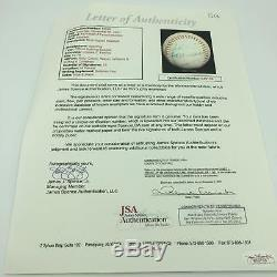 1976 Hall Of Fame Induction Day Signed Baseball With Ted Williams 15 Sigs JSA