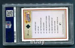 1992 UD Ted Williams Signed PSA/DNA Auto /2500 Boston Red Sox HOF Graded MINT 9