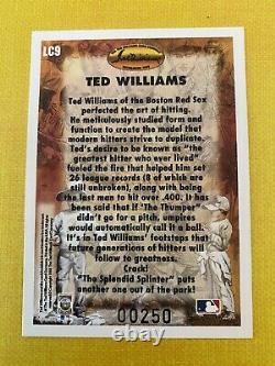 1993 Ted Williams Locklear Autograph #LC9. Serial #250/406 Signed. Free Ship
