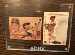 1993 Upper Deck Ted Williams Career Highlights Auto Card Set with UD COA BAA26138