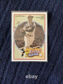 2012 Ted Williams PRIME CUT HUGE LOT 1/1 /5 /9 /25 Auto Graded Game Used Jersey