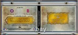 2013 Topps Five Star Signatures Booklet TED WILLIAMS BRYCE HARPER Dual AUTO 1/1