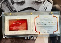 2016 Panini National Treasures Baseball Ted Williams Legends Cuts #1/5 LCBM-TW