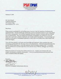 500 HR signed baseball 11 auto Mickey Mantle Ted Williams Hank Aaron Mays PSA
