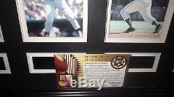 500 Home Run Club 24x40 Showcase Piece Signed by 11 HOF'ers Ted Williams Mantle