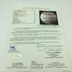 All Century Team Signed Baseball Ted Williams Aaron Willie Mays Sandy Koufax JSA