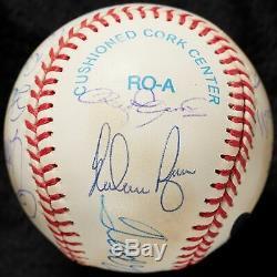 All Century Team Signed Baseball Ted Williams Willie Mays Hank Aaron PSA DNA