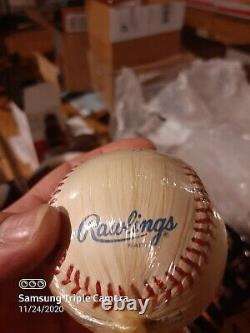Autographed Ted Williams Baseball Hand Signed at Upper Deck Show