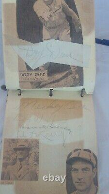 Babe Ruth 2x Lou Gehrig Ted Williams Vintage Signed Book 131 Autos Jsa Loa