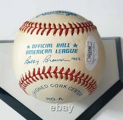 Boston Red Sox TED WILLIAMS signed American League Baseball withJSA LOA