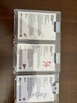Ef dot signed Project 2020 Lot Nolan Ryan Ted williams Willow mays 9/9 10/40