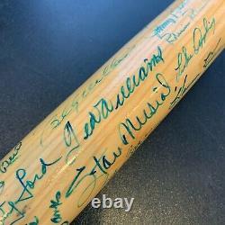 HOF Multi Signed Bat Ted Williams Willie Mays Sandy Koufax Stan Musial JSA COA