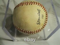 Hof great ted williams signed baseball 8.5 from clean sweep auctions