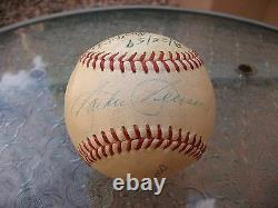 Jackie Jensen And Ted Williams Signed Official American League Baseball Jsa Loa