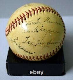 Jimmie Foxx Ted Williams Signed Auto Autograph Red Sox Baseball Ball Jsa/dna