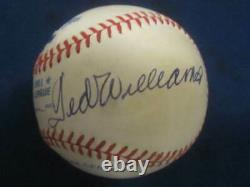 Joe DiMaggio Yankees & Ted Williams Red Sox Autographed MLB Baseball PSA Letter