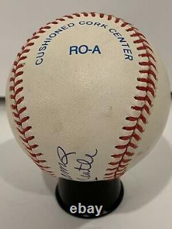 Legendary Mickey Mantle Ted Williams Autographed Signed MLB Baseball Yankees