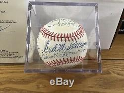 MLB HOFers & Stars Multi-Signed Baseball Ted Williams Mickey Mantle +17 JSA LOA