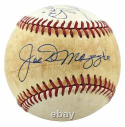 Mickey Mantle, Joe DiMaggio, Ted Williams Signed Oal Baseball BAS #A79706