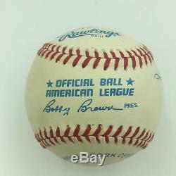 Mickey Mantle & Ted Williams 500 Home Run Club Signed AL Baseball JSA COA