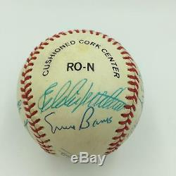 Mickey Mantle Ted Williams 500 Home Run Club Signed Baseball 12 Sigs JSA COA