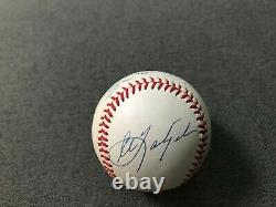 Mickey Mantle, Ted Williams, Auto Signed Autographed Triple Crown JSA Baseball