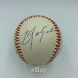 Mickey Mantle Ted Williams Carl Yastrzemski Triple Crown Signed Baseball PSA DNA