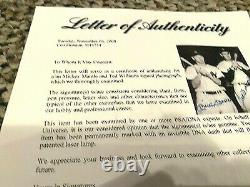 Mickey Mantle Ted Williams Signed 8x10 PSA LOA