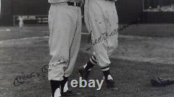 Mickey Mantle & Ted Williams Signed Auto Autograph Upper Deck Uda 16x20 Photo