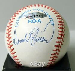 Mickey Mantle Ted Williams Yaz Robinson Tc Signed Baseball Ball Upper Deck Uda