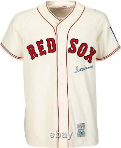 Mint Ted Williams Signed 1939 Boston Red Sox Rookie Jersey PSA DNA COA
