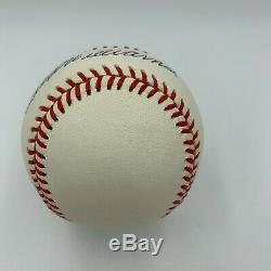 Mint Ted Williams Signed Autographed American League Baseball With PSA DNA COA