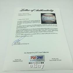Nice Ted Williams & Carl Yastrzemski Signed American League Baseball PSA DNA COA
