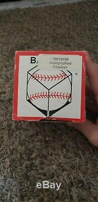 Original Rawlings Baseball Autographed By White Sox Ted Williams. Very Good
