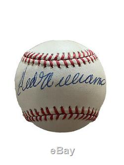 Red Sox Ted Williams Authentic Signed Bobby Brown Oal Baseball JSA BB32649