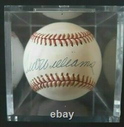 Signed Autographed TED WILLIAMS Baseball Upper Deck Authenticated Hologram