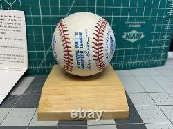 Signed Autographed TED WILLIAMS Baseball Upper Deck Authenticated Hologram COA