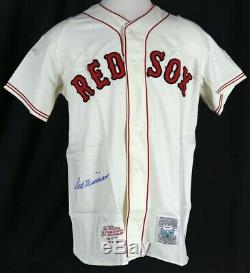 Stunning Ted Williams Signed Boston Red Sox Jersey PSA DNA COA Graded MINT 9
