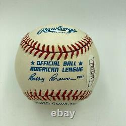 Stunning Ted Williams Single Signed American League Baseball JSA Graded MINT 9